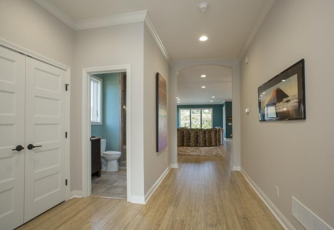 Main entry hallway